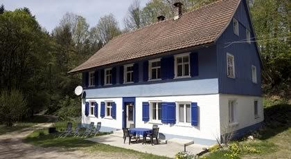 Ferienhaus Blaues Haus in Hohenweiler (A)